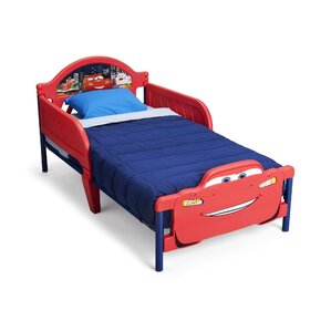 Disney Cars 3D Convertible Toddler Bed by Delta Children