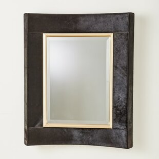Global Views Curved Short Accent Mirror