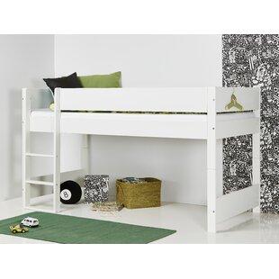 Annora European Single Mid Sleeper Bed By Harriet Bee