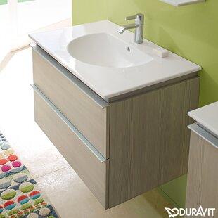 Darling New 24 Wall-Mounted Single Bathroom Vanity ByDuravit
