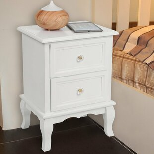 Review Brandt 2 Drawer Bedside Tables (Set Of 2)