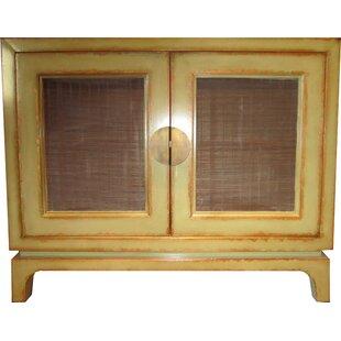 Modern 2 Door Accent Cabinet by Asian Loft