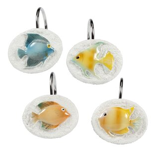 Cater Fish Shower Curtain Hooks
