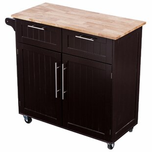 Gavril Kitchen Cart Winston Porter