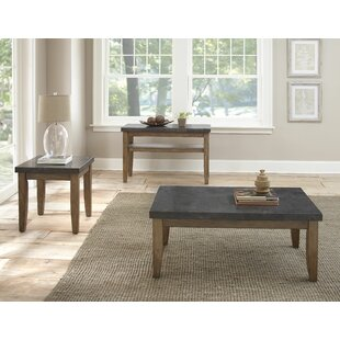Lark Manor Dejardins 3 Piece Coffee Table Set