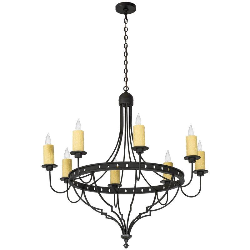Fleur De Lis Living Behling 8 Light Candle Style Empire Chandelier Wayfair