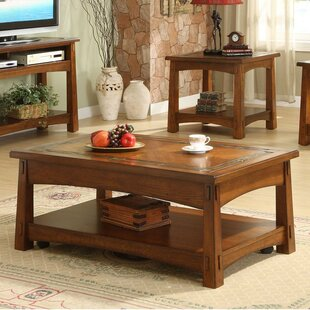 Loon Peak Rexford Coffee Table with Lift Top