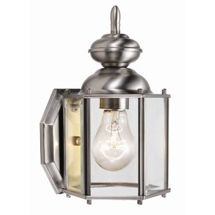 Top Reviews Augusta 1-Light Outdoor Sconce By Design House