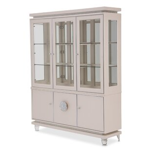 Michael Amini Glimmering Heights Standard China Cabinet