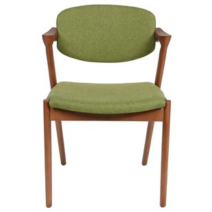 Upholstered Arm Chair in Green