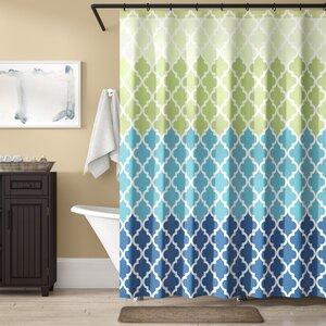 Nakasi Flat Shower Curtain