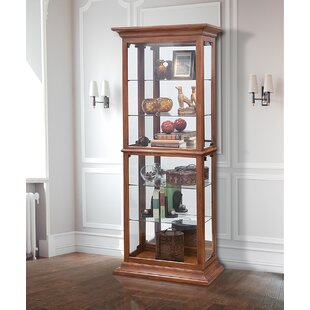 Curio Red Wood Display China Cabinets You Ll Love In 2021 Wayfair