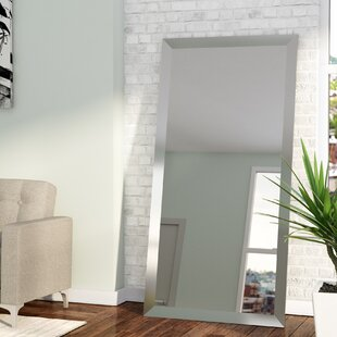 Charmant Rectangle Nickel Wall Mirror