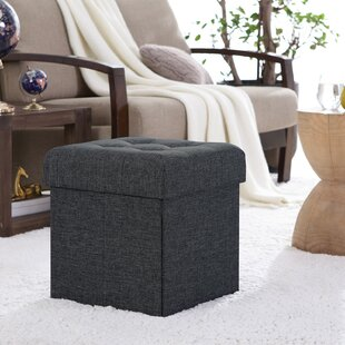 Stupendous Lambertville Foldable Tufted Square Cube Foot Rest Storage Ottoman Andrewgaddart Wooden Chair Designs For Living Room Andrewgaddartcom