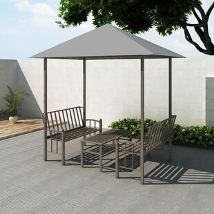 Bonneau 2.5m X 1.5m Steel Patio Gazebo By Sol 72 Outdoor