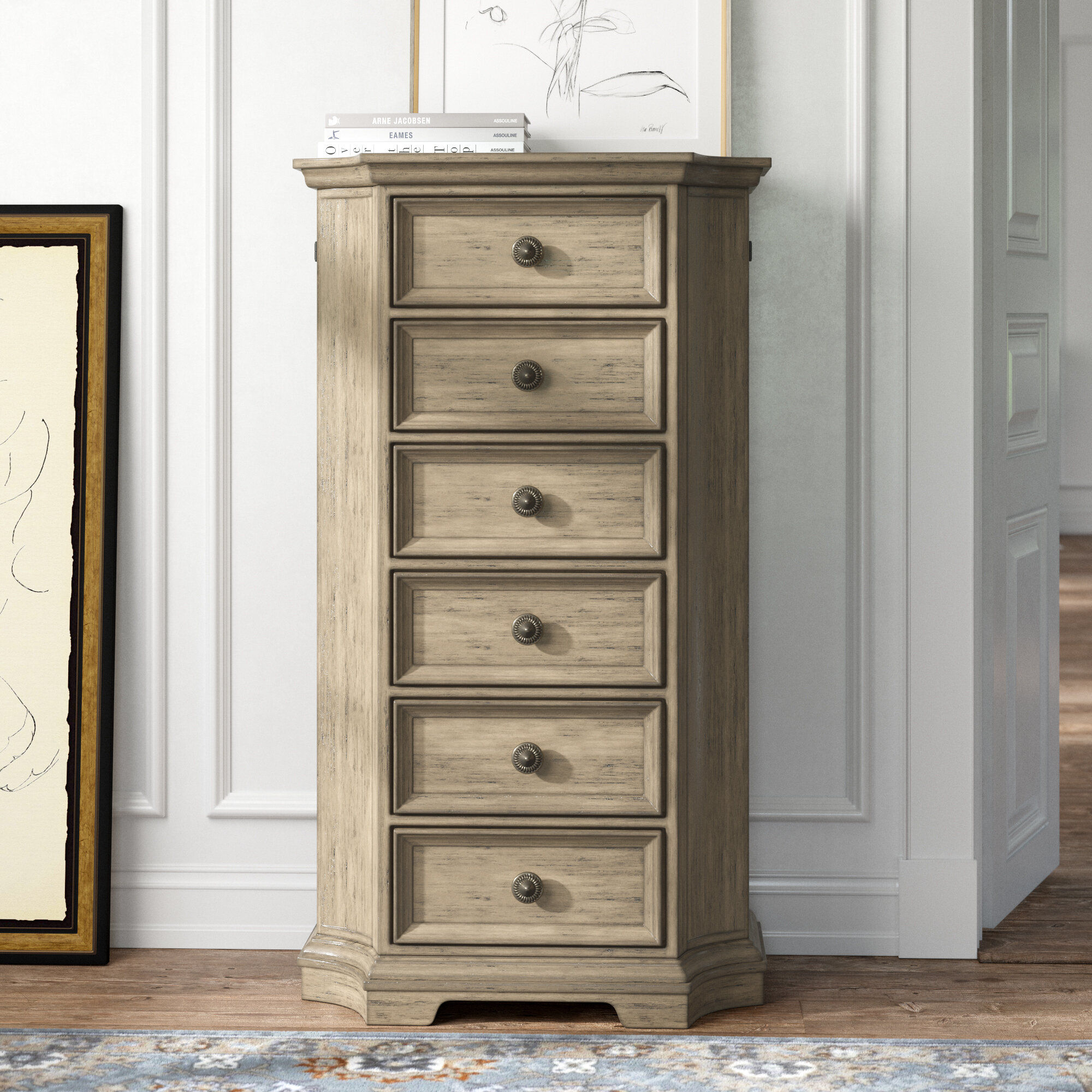 Kelly Clarkson Home Troutt 6 Drawer Lingerie Chest Reviews Wayfair