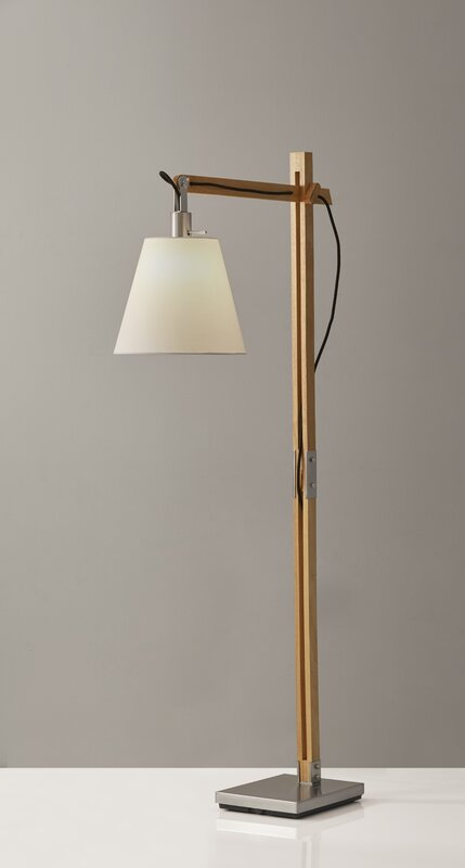 Puppis 61 task floor lamp reviews joss main puppis 61 task floor lamp mozeypictures Images