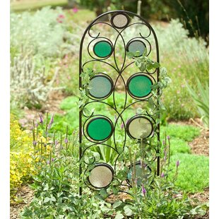 Wind & Weather Iron Arched Trellis