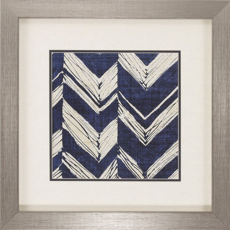 Incredible Indigo Batik Framed Graphic Art Set Onthecornerstone Fun Painted Chair Ideas Images Onthecornerstoneorg