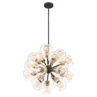 Brayden Studio Anglin 18-Light Sputnik Chandelier