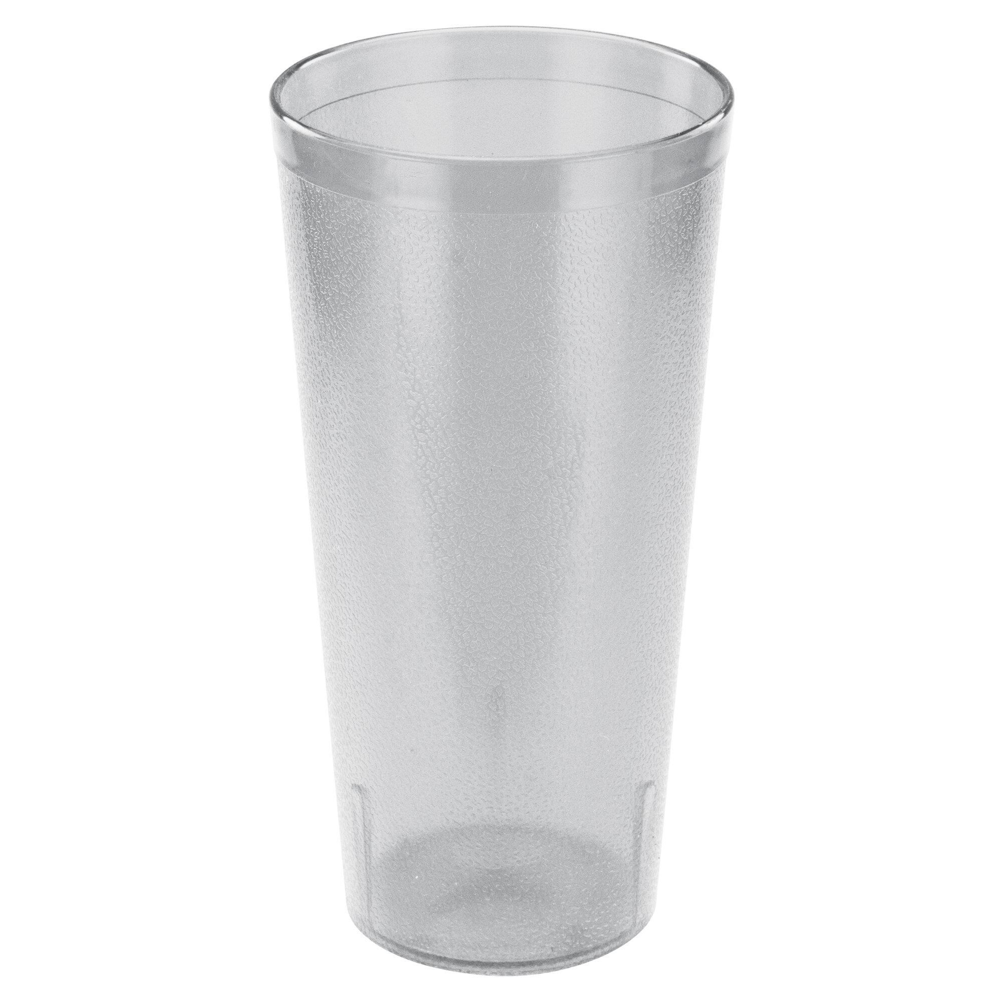 Winco Pebbled 20 Oz Plastic Drinking Glass Reviews Wayfair