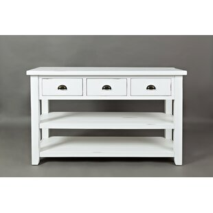 Millwood Pines Carr Wooden Console Table