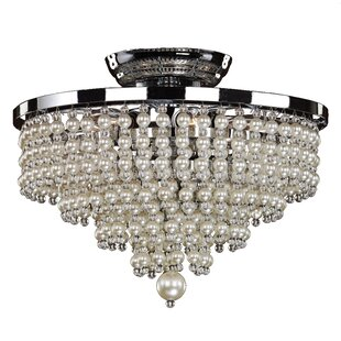 Cava 6-Light Semi Flush Mount by Glow Lighting