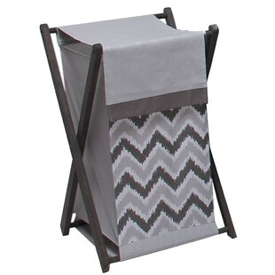 Clearance Lauro Laundry Hamper By Harriet Bee