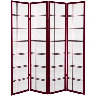 Sandefur 4 Panel Room Divider by Bloomsbury Market