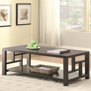 Elosie Contemporary Solid Wooden Coffee Table