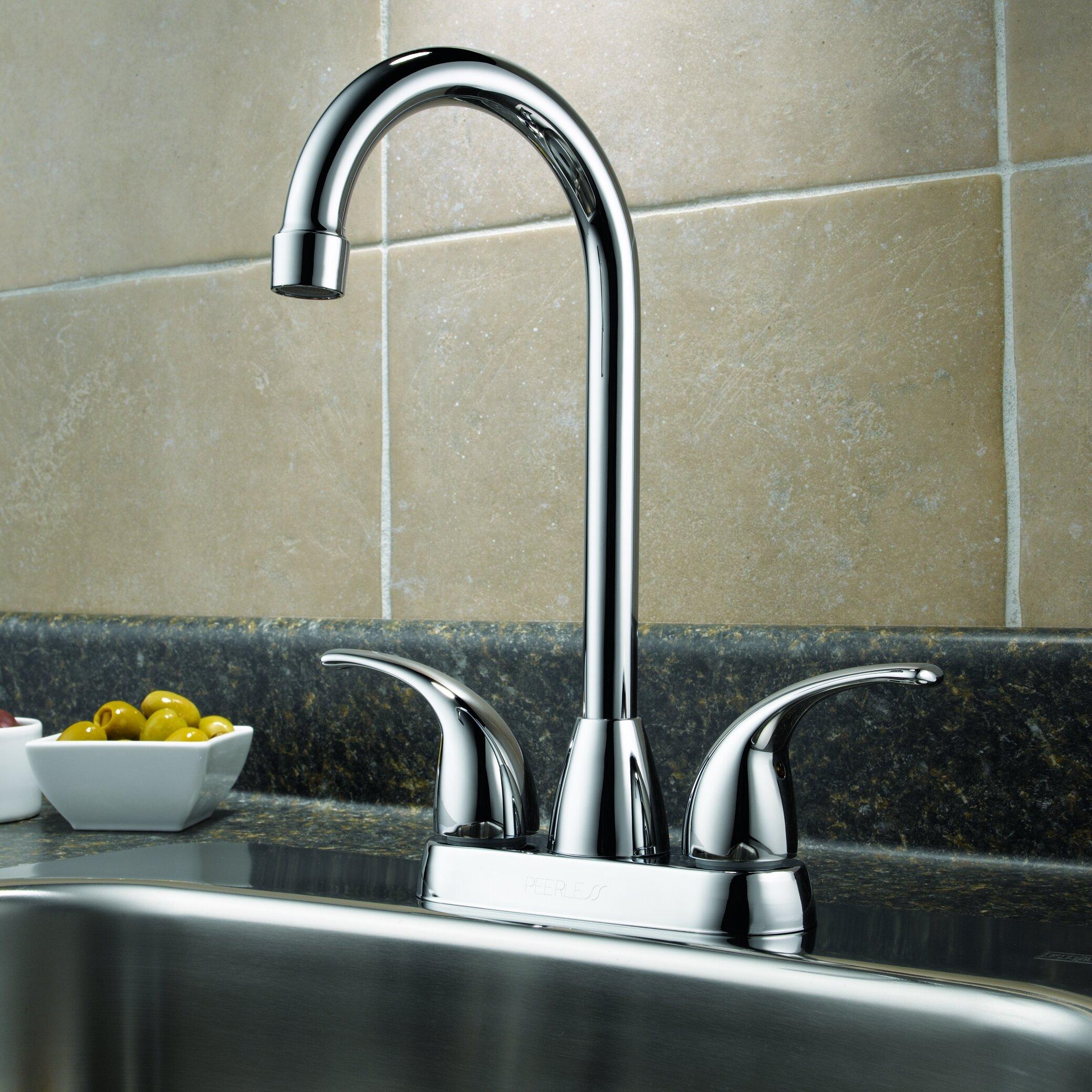 Peerless Faucets Double Handle Kitchen Faucet Reviews