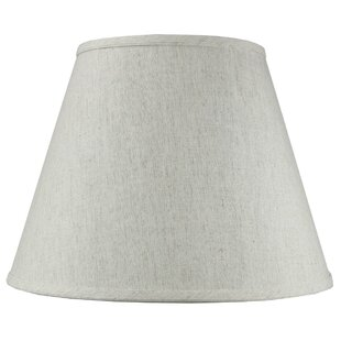 Best Review Solid 16 Shantung Empire Lamp Shade By Alcott Hill