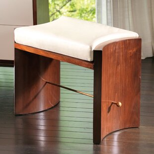 Global Views Cinch Leather Bench