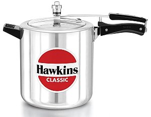 Hawkins Classic New Improved Aluminum Pressure Cooker