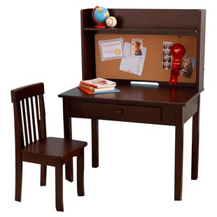 Pinboard 3 Piece 31 Writing Desk and Hutch Set By KidKraft