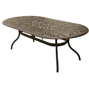 Caryville Metal Dining Table by Fleur De Lis Living