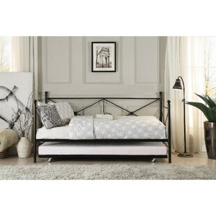 August Grove Yarbrough Contemporary Daybed with Trundle