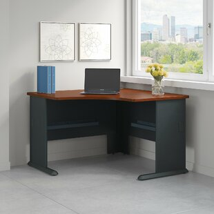 Bush Business Furniture Series A 4 Piece Desk Office Suite
