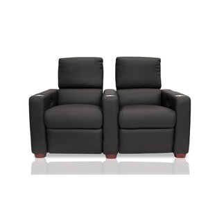 Penthouse Leather Home Theater Row Seating Row of 2