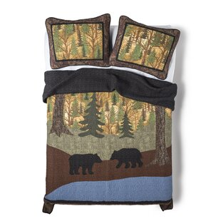 Millwood Pines Melvin Bears Single Reversible Quilt