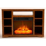 Glastonbury TV Stand for TVs up to 60 with Fireplace Included by Loon Peak®
