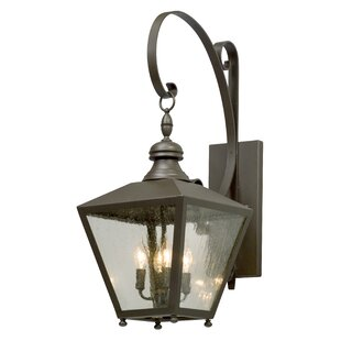 Reviews Sybil 4-Light Outdoor Wall Lantern By Darby Home Co