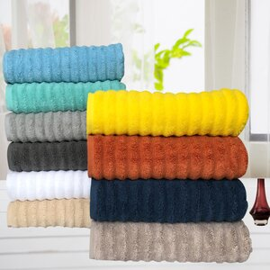 Quick Dry Cotton 6 Piece Towel Set