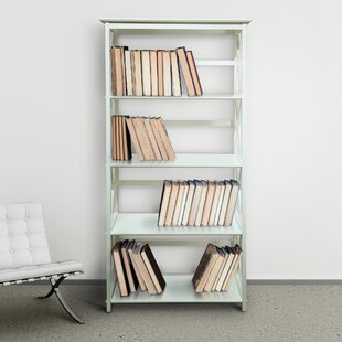 Kallie 5-Shelf Standard Bookcase Gracie Oaks