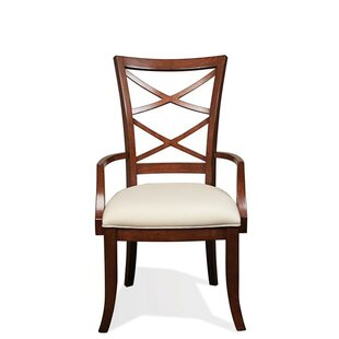 Alfred Bay Xx-Back Upholstered Dining Chair (Set of 2)