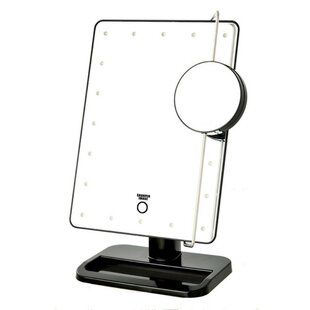 LED Single-Sided Makeup/Shaving Mirror By Symple Stuff