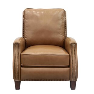 Melrose Leather Manual Recliner by Barcalounger