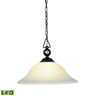 Corduff 1-Light Bowl Pendant by Darby Home Co