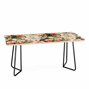 Camarasa Exotic Jungle Bouquet Coffee Table by East Urban Home Bargain