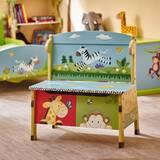 Sunny Safari Kids Storage Bench by Fantasy Fields
